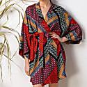 Japan Style Kimono Robe Dress Massami image