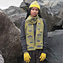 Cloud Busting Lambswool Hat In Yellow & Grey image
