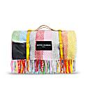 Pure New Wool Waterproof Picnic Blanket Rainbow image