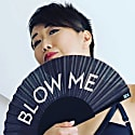 Blow Me Hand Fan image