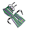 Linear Mask - Stripe Print image