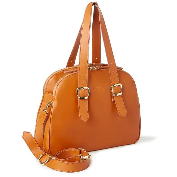 NINE TO FIVE Day Bag Luton Caramel