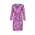 Printed Lycra Dress Mila image