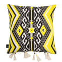 Azizi Yellow Cotton Cushion image