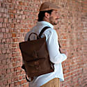 Habano Classic Leather Backpack MD image