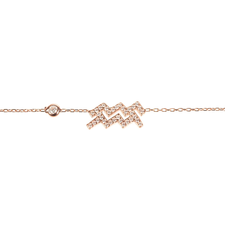 Latelita London Aquarius Zodiac Bracelet Rose Gold HV7VekN