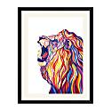 Roaring Lion Art Print image