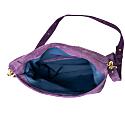 Explorer Crossbody Clutch In Purple Suede image
