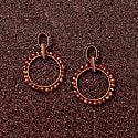 Caramel Crochet Multi Links Earrings image