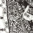 Crazy Bug Long Silk Scarf image
