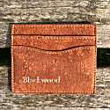 Orange Cork Leather Card Holder image