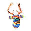Paper Mache Rainbow Deer image