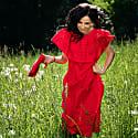 Varvara Mini Cross-Body Bag in Scarlet Red image