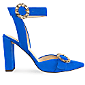 Bluette Suede Heels image