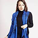 Lotus Scarf Amparo Blue and Black image