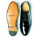 Curito Abingdon Men's Patent Leather Formal Oxford Shoes image