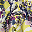 Lobsters Purple Double Sided Fringed Skinny Silk Scarf image