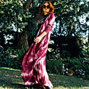 Dusty Rose Tie Dye Yoga Duster image