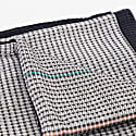 Kerpel Charcoal Navy Hand Embroidered Reverse Throw image