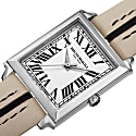 Women's Valentina 1064 Swiss Quartz Italian Leather Strap Watch Taupe image