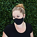 Womens Silk + Cotton Reversible Face Mask - The Raver image