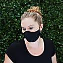 Womens Silk Reversible Face Mask - La Vie En Noir image