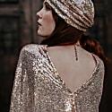 Rose Gold Sequin Caftan image