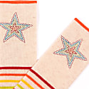 Berlin Oatmeal Stripe Rainbow Star image