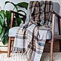 Recycled Wool Blanket In Mackellar Tartan image