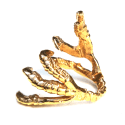 Gold Pigeon Grasp Ring image