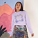 Stargazer Sweatshirt Lilac image