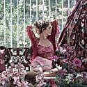 Lilies Need A Poem Too Kimono Fuchsia image