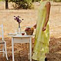 Lemon Lavender Tiered Dress image