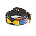 Hand-Beaded Maasai Jua Belt Wide image