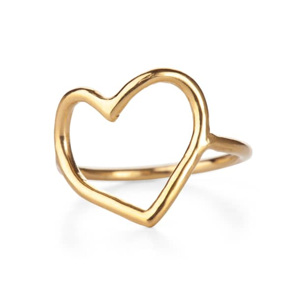 CHUPI My Heart Is Open Ring Gold