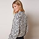 Lexie Blouse In Stone Dash Print image