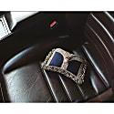 Zeenat Clutch Silk Midnight Blue image
