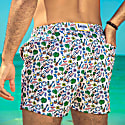 Kairen Vintage Men'S Swimshorts Trunk From 100% Recycled Plastics image
