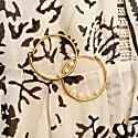 Delicate Pearl Hoops image