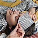 Eye Mask Stripy Cotton image