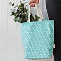 Leaf Tote Bag Mint image