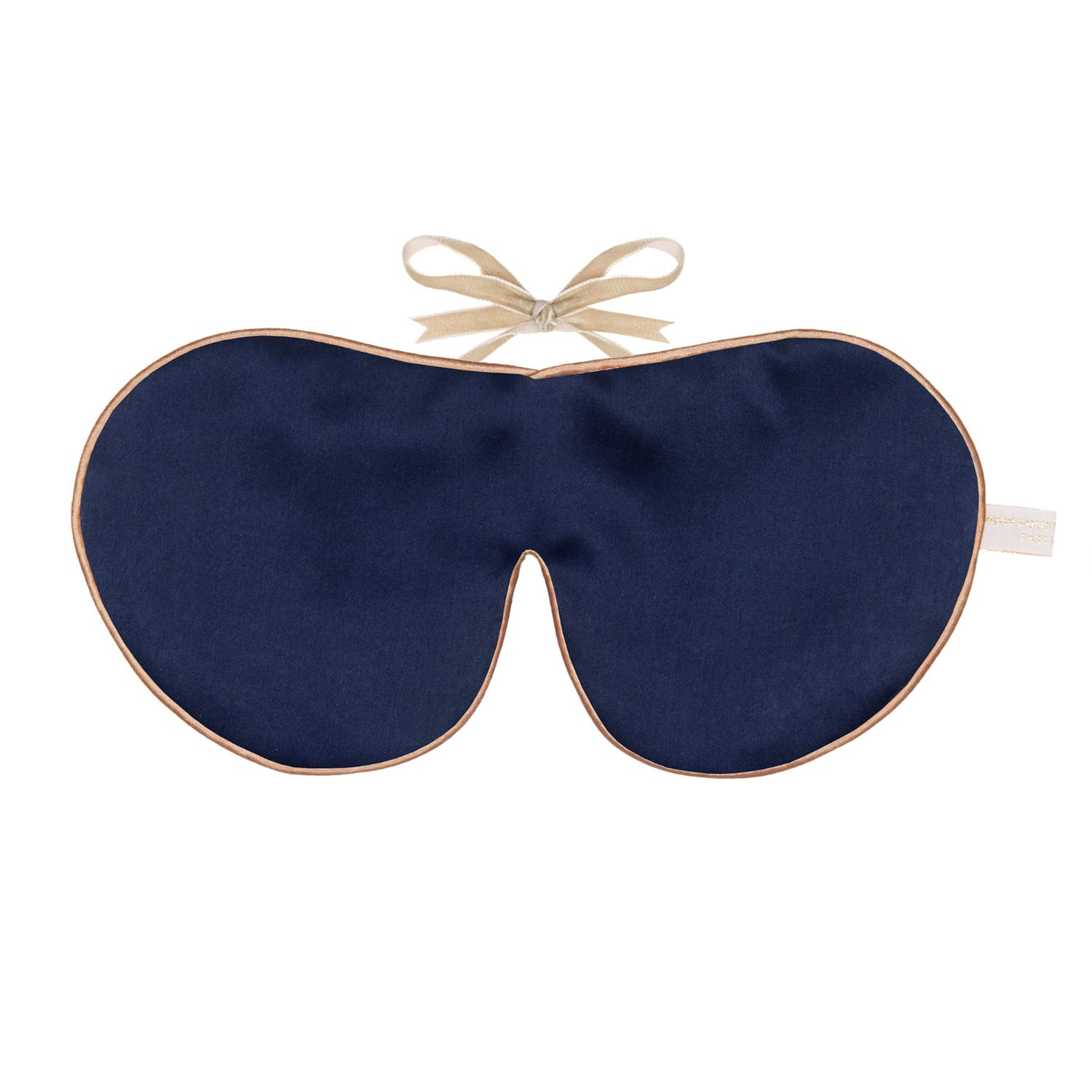 756d1cbe3 Pure Mulberry Silk Lavender Eye Mask Navy