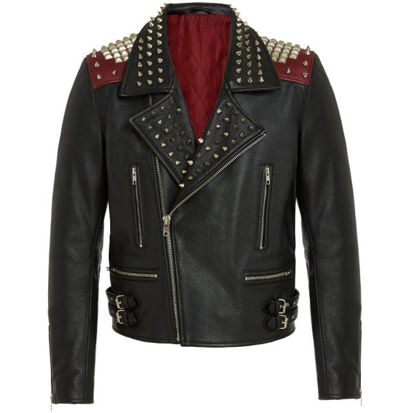 Punk Rock Leather Biker Jacket Raddar7 Wolf Amp Badger