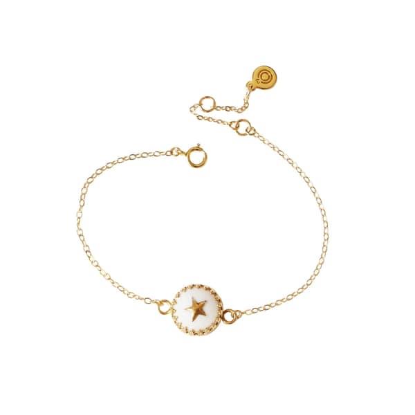 POPORCELAIN Porcelain Star Charm Bracelet