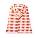 Yukata Shirt - Orange & White image