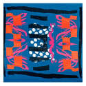 Multicolour Summer Large Square Scarf image