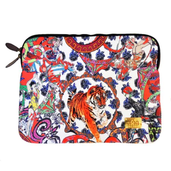 Crazy Circus Laptop Bag With Velvet Lining