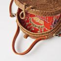 Buenos Round Basket Bag image