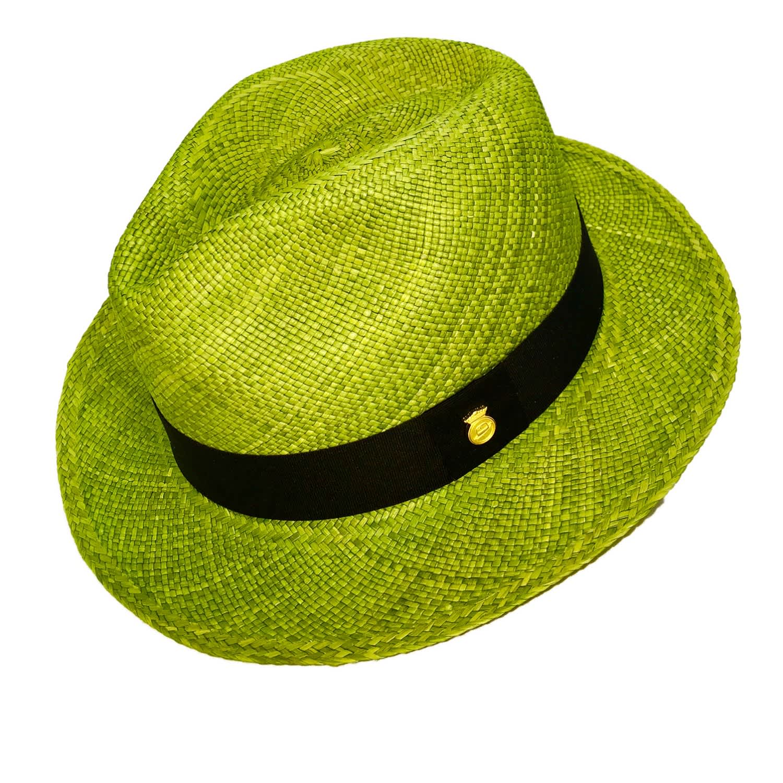 d67883aa Green Street Handwoven Straw Genuine Panama Hat   La Marqueza Hats ...