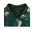 Penny Bomber Reversible In Rainbow Trout & Abandoned Village Print image